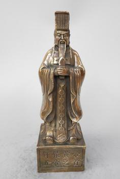 Chinese ancient head of the five emperors yan Emperor statue