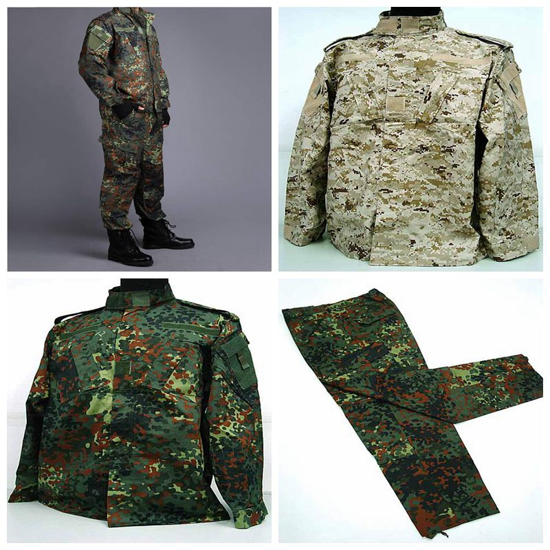 [Promotion] US Army Navy BDU CP Multicam Camouflage Suit Military Uniform Tactical Combat Airsoft Farda Only Jacket & Pants camouflage suit sets army military uniform combat airsoft war game uniform jacket pants uniform