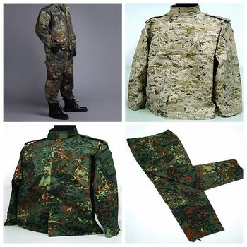 [Promotion] US Army Navy BDU CP Multicam Camouflage Suit Military Uniform Tactical Combat Airsoft Farda Only Jacket & Pants