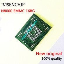 2-10 pces 100% teste KLMAG4FEJA-A001 a002 n8000 emmc memória flash nand com firmware para samsung galaxy note 10.1 n8000 16gb