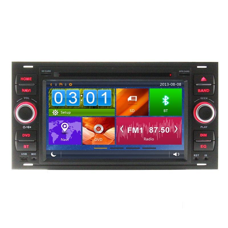 buy car dvd player gps navigation for ford focus c max fiesta fusion galaxy. Black Bedroom Furniture Sets. Home Design Ideas