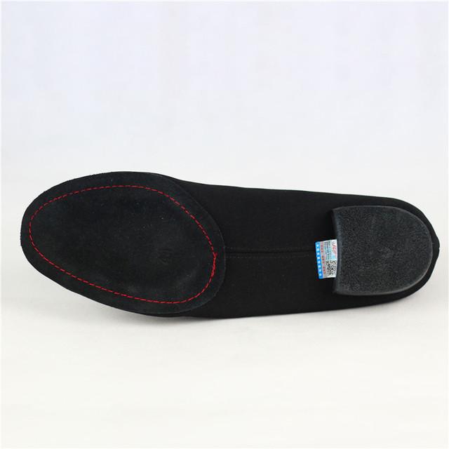 Men Standard Dance Shoes BD309 Ballroom Shoe Canvas Napped Split Outsole Practice Competition