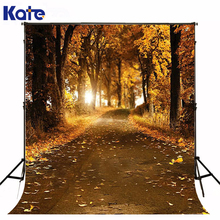 300CM*200CM Autumn Photography Backgrounds Falling Leaves Woods Photography Backdrops Photo Backdrops Outdoor Camera Fotography