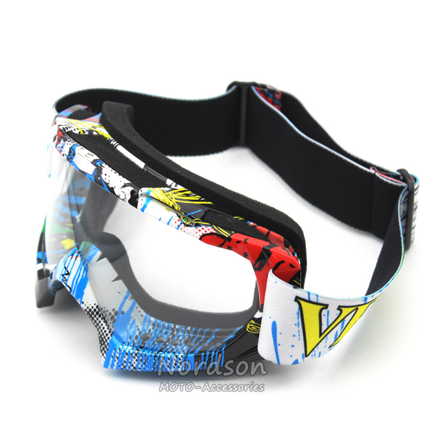 fff1a490d6 2016 Transparent Motocross Goggles Dirt Bike ATV Motorcycle Ski Glasses  Moto UV Protection Ski Snowboard Goggles. Mouse over to zoom in