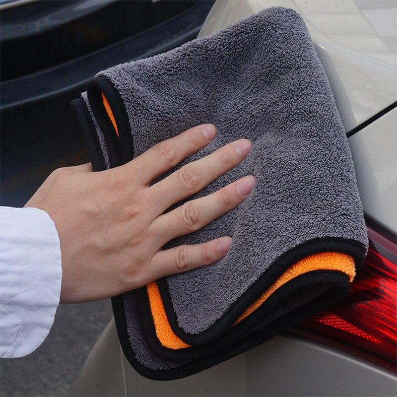 30*30CM Super Absorbent Car Wash Cloth Microfiber Towel Cleaning Drying Cloths Rag Detailing Car Towel Car Care Polishing