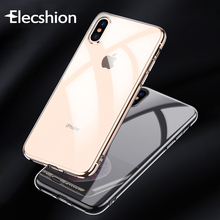 Soft Ultra Thin Slim Transparent Case For iPhone 7 8 Plus Shockproof 6 7 8 X XS MAX XR Back Protective  Clear Smart Accessories стоимость