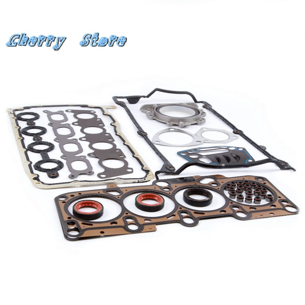 NEW 058 103 383 K Engine Cylinder Head Gasket Repair Kit For VW Volkswagen Jetta Golf MK4 Passat B5 Audi A4 1.8T 058 198 025 A trendy women s sweetheart neck sleeveless floral print knee length dress