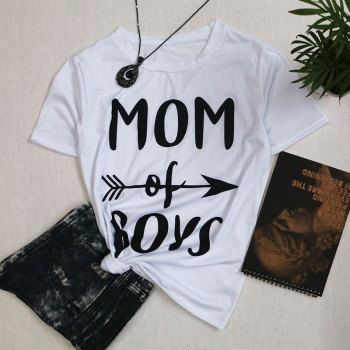 Mom of Boys t shirt mother day gift