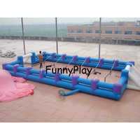 inflatable sports soccer pitch,Rental Inflatable FootballGame,inflatable castle sport playground,Inflatable Human Foosball Court