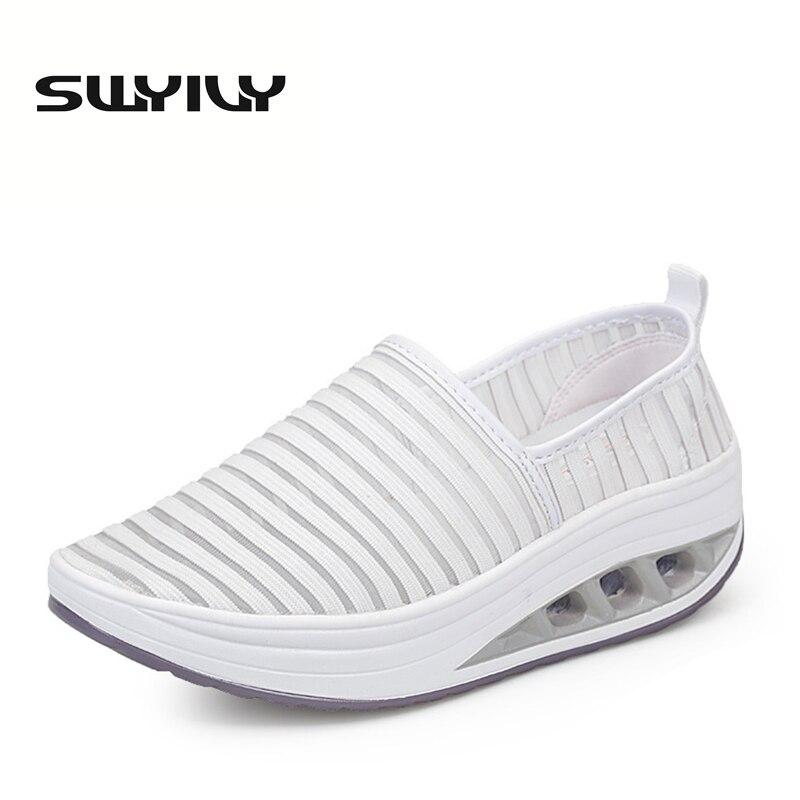 Toning-schuh Swyivy Frauen Abnehmen Schuhe Ofenrohr Körper Sculpting Halb-füße Schuhe 2018 Verlieren Wight Massage Weibliche Toning Schuhe Negativen Ferse Fitness & Bodybuilding