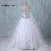 2014 New Bandage Tube Top Crystal Luxury Wedding Dress 2014 Bridal Gown Wedding Dresses Vestido De