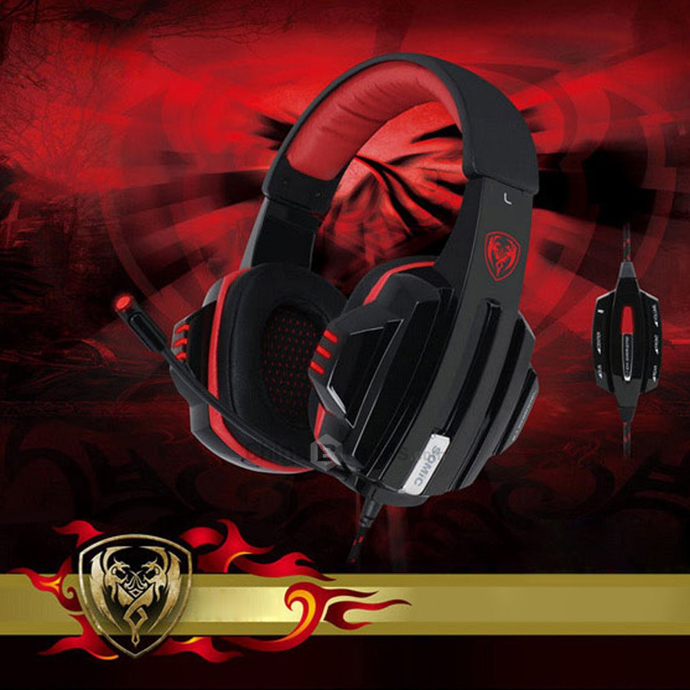 2016 New Best Somic G95PRO 5.1 Surround Sound USB Gaming Headset Headphone Earphone with Mic Volume Control for PC Free shipping