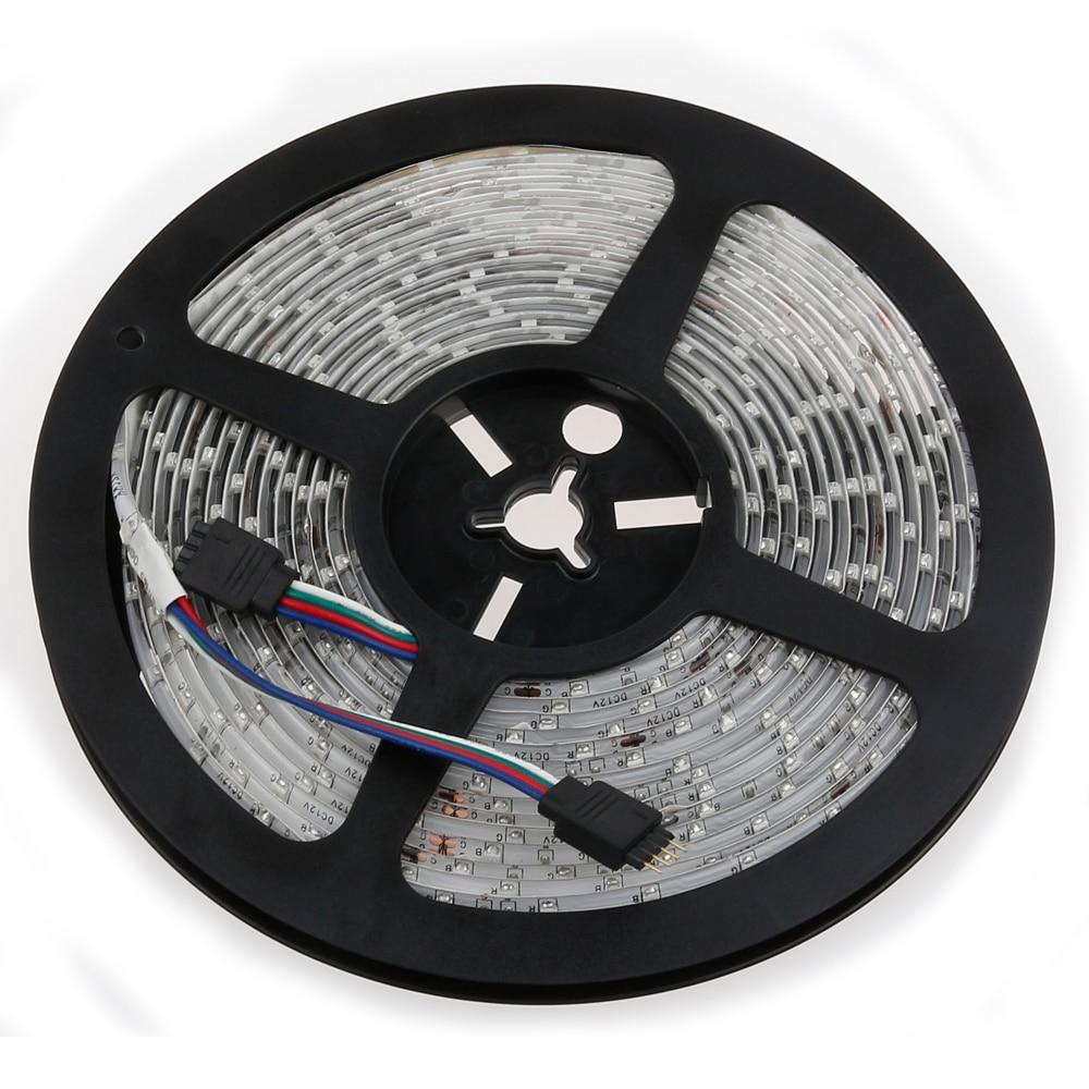 LED Strip 5050 DC12V çevik işıq 60 metr / m suya davamlı zolaq - LED işıqlandırma - Fotoqrafiya 2