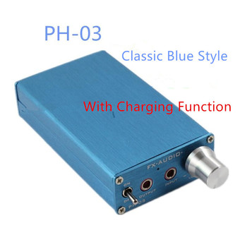 DC9V 1A PH-03 Portable amp / Small Group amp / can push AKG701 HD650 /black and blue