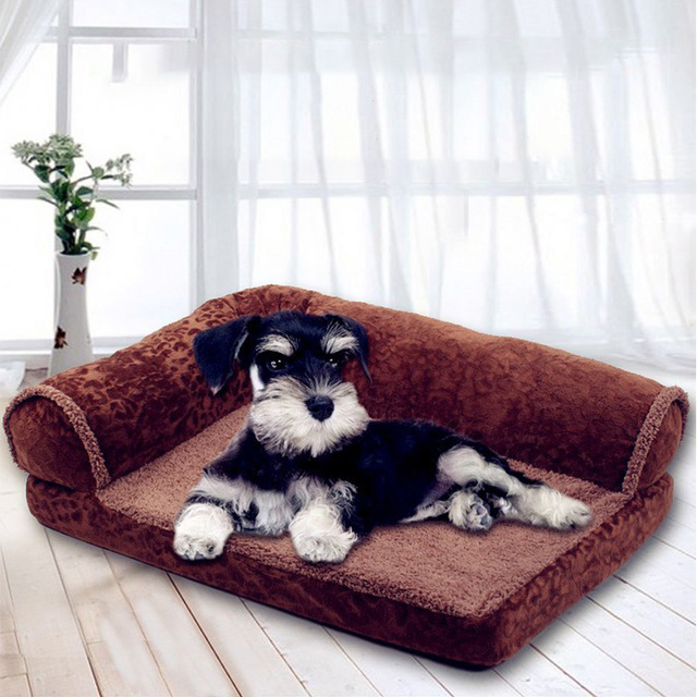 US $19.99 25% OFF|Coralline Pet Sofa Bed For Dogs And Cats Dog Lounger Mats  Cozy Bed For Large Dog Labrador Cat Kennel House For Animal-in Houses, ...