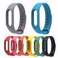 Para xiaomi mi banda 2 correa de accesorios xiaomi miband 2 pulseras de colores correa de pulsera inteligente reemplazar cinturón band envío libre