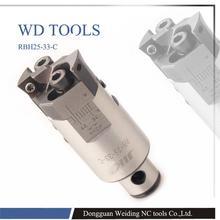 High precision 0.02mm RBH25-33 Twin-bit Rough Boring Head RBH25 boring head used for deep holes цена 2017