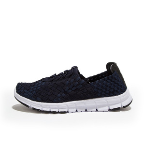 Image 3 - STQ 2020 סתיו נשים מקרית סניקרס נעלי נשים דירות ארוג נעלי לופרס נעליים שטוח Weave תחרה עד נעלי הליכה 1655