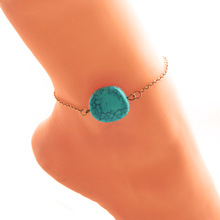 Cindiry 2017 New Elegant Charms Anklet Chain Crystal Fashion Jewelry Anklet Women Bohemia Beach Vacation Anklets Bracelet  P0.1