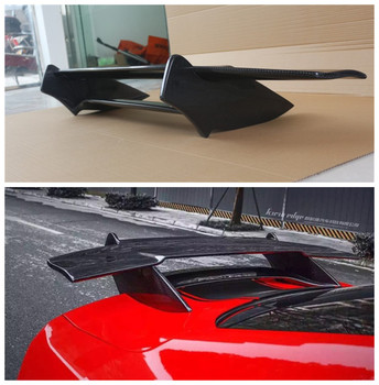 For Ford Mustang 2014.2015.2016.2017 Carbon Fiber Spoiler Wing Spoilers High Quality Double tail Style Auto Accessories