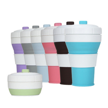 450ml New Arrival Silicone Coffee Cup Outdoor Travel Portable Collapsible Drinking Cups Retractable Office Tea Water Cup tea cup travel cup stainless steel silicone retractable folding cups telescopic collapsible coffee cups outdoor sport water cup