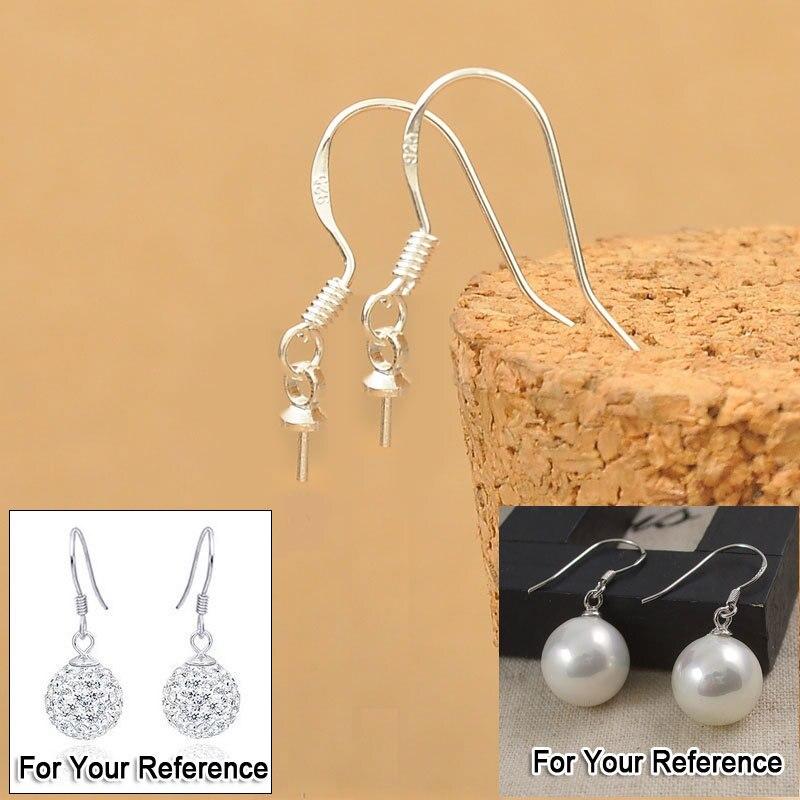 20 x 925 Sterling Silver Earring Hooks Fish Hooks Jewellery Making UK Based