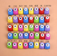 Mini Scrapbook Punches Handmade Cutter Card Craft Calico Printing Flower Paper Craft Punch Hole Puncher Shape