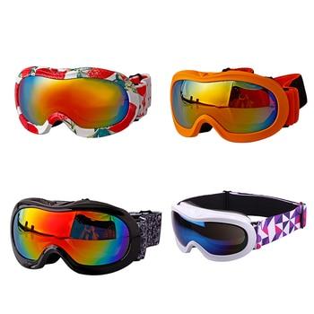 f26d567674 Los niños gafas de esquí de nieve Snowboard nieve Skate-chico chica niño  Junior-Anti niebla protección UV OTG por Glasse