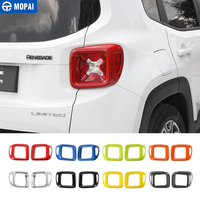 MOPAI Car Rear Tail Light Guard Decoration Cover Trim for Jeep Renegade 2015 2016 Exterior Accessories Stickers Car Styling