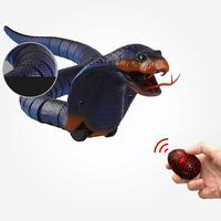 Rechargeable Remote Control Electric Simulation Induction Snake Toys Trick Toy
