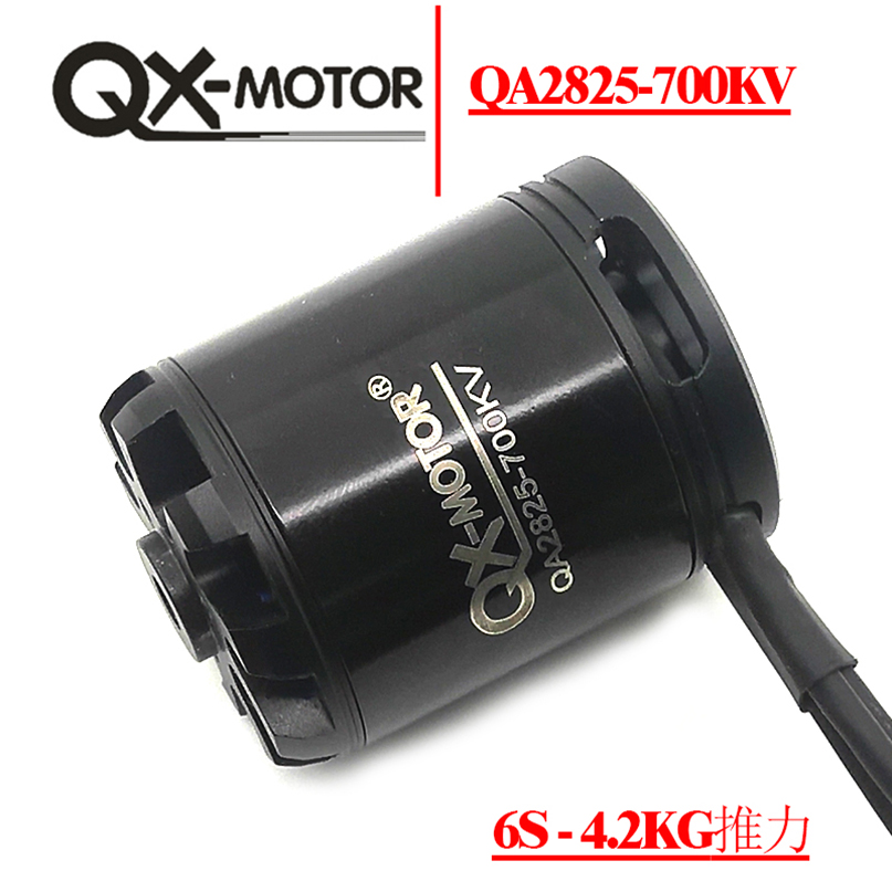 QX-MOTOR QA2825 Brushless Motor 700KV 800KV 850KV CW CCW 3-6S Lipo 55A / 10S 4KG Thrust for Fixed Wing Plane RC Quadcopter Parts