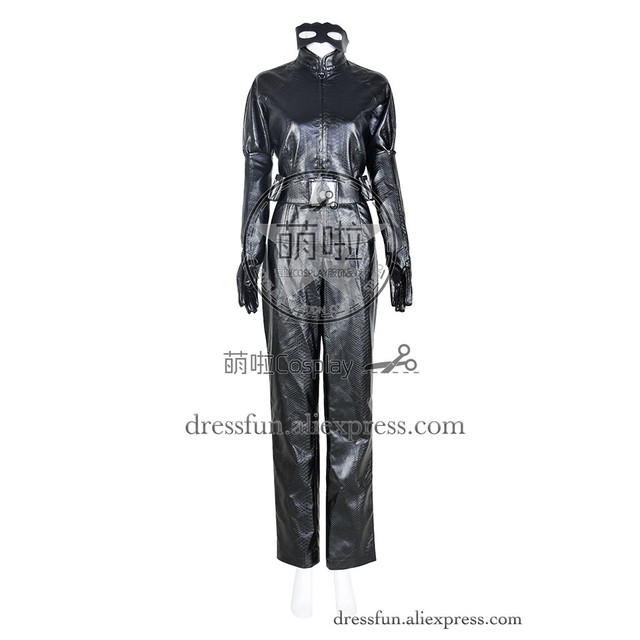 Batman The Dark Knight Rises Cosplay Catwoman Costume Uniform Jumpsuit Outfits Suit Halloween Fashion Party Fast  sc 1 st  AliExpress.com : catwoman batman costume  - Germanpascual.Com