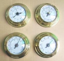 THBC9193 Thermomètre Hygromètre Baromètre Montres Horloge Quatre Ensemble Station Météo