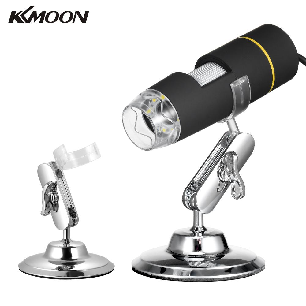 KKmoon 1000X Magnification USB Digital Microscope with OTG Function Endoscope 8-LED Light Magnifying Glass Magnifier with Stand