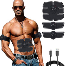 Abdominal Trainers Waist Trimmers Muscular Electro Stimulator Stimulation EMS Home Fitness Gym Exercise Slimming Instrument Belt
