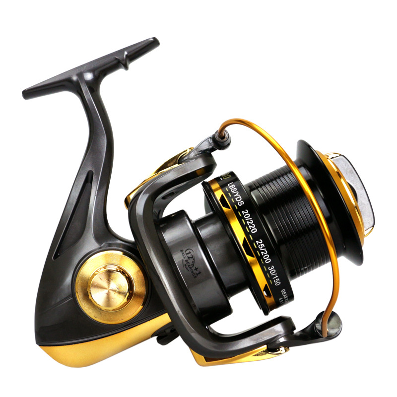 High Strength Strong Fishing Gear Carp Fishing Coll Line Winder Spinning Reel 12+1BB Sea Fishing Wheel Wire Spooler - 2