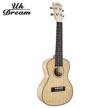 Small Guitars 23 Inch 4 Strings Ukulele Full Flame Maple Classical Guitar Acoustic Guitar Profession Musical Instruments UC-A6