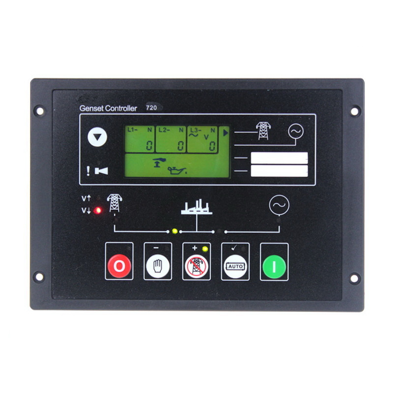 DSE720  or BC720 Generator Controller Board BC720 Generator Control Module Panel  free shipping DSE720  or BC720 Generator Controller Board BC720 Generator Control Module Panel  free shipping