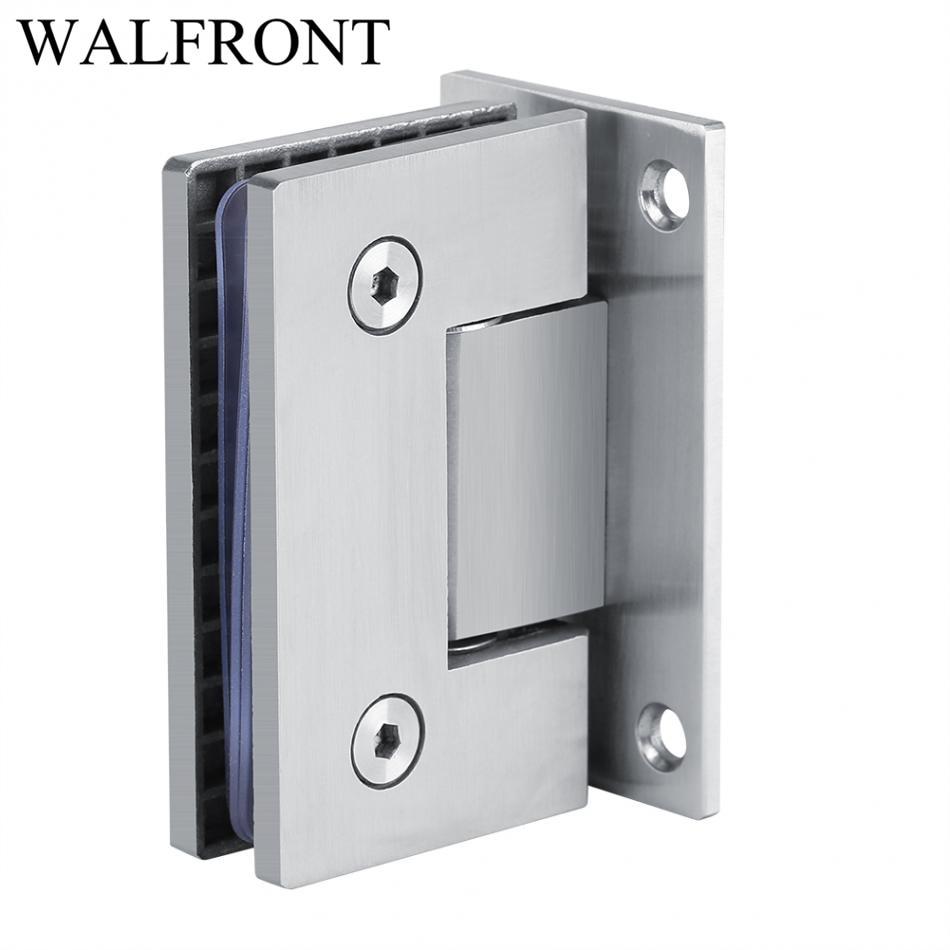 90 Degree Steel Door Hinges 8 10mm Glass Shower Door Hinges For Home