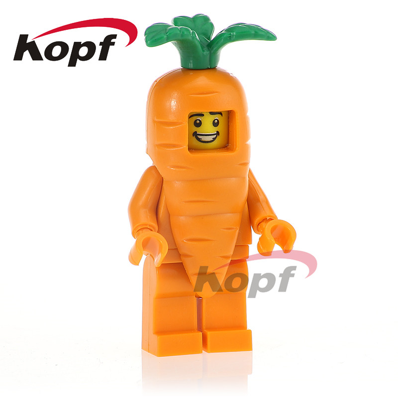 Single Sale Carrot Man Super Heroes Vampire Batman Nuclear Workers Tauren Building Blocks Bricks Children Gift Toys PG1122 single sale building blocks super heroes bob ross american painter the joy of painting bricks education toys children gift kf982