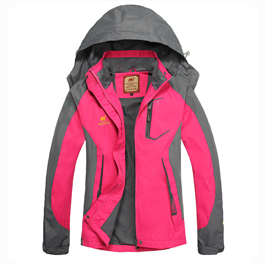 Women Windproof Outdoor Camping Hiking Climbing Jacket Coat Top Outwear Windbreaker Sports Apparel Tracksuit Athletic Blazers