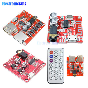Bluetooth Audio Receiver Board BLE 4.1 4.2 mp3 Lossless Decoder Board Wireless Stereo Music Module Car Speaker TF Card Interface image
