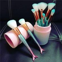 Новое поступление 10 шт набор профессиональных кистей для макияжа