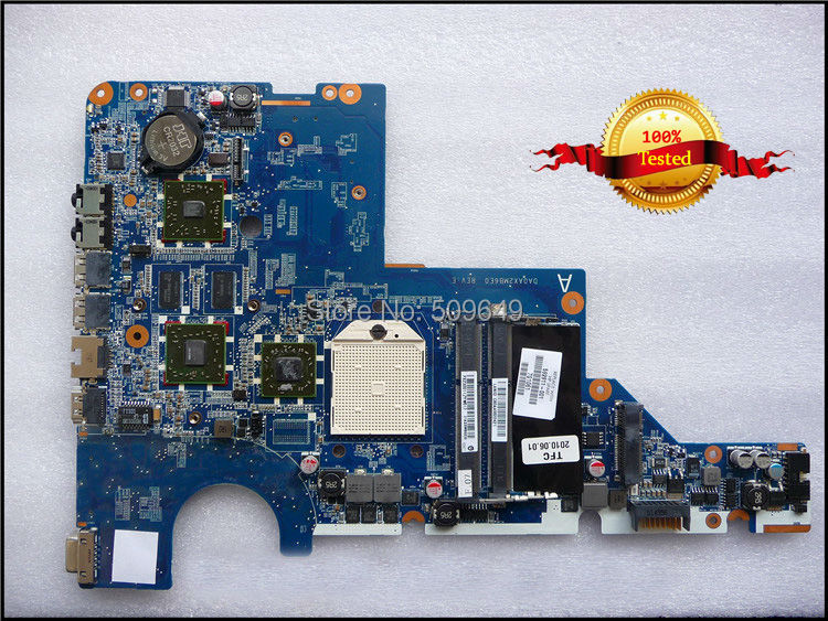 For HP laptop mainboard 616407-001 CQ42 CQ62 laptop motherboard,100% Tested 60 days warranty laptop motherboard 605903 001 fit for hp g62 cq62 notebook pc mainboard ddr3