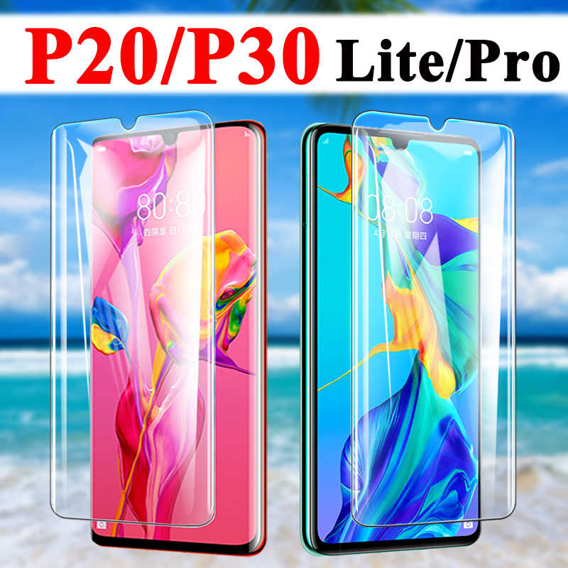 Protective Glass For Huawei P20 Pro Screen Protector P30 Lite Tempered At Huawei P 20 30 Tremp Armor Sheet 20 P 30 P Light Saver