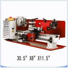 ミニ高精度diyショップベンチトップ金属旋盤工作機械可変速度フライス