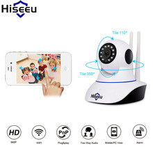 Hiseeu Camara De Vigilancia HD 960P Wired IP Network Endoscope Baby Monitor Night Vision Camaras De Seguridad Dropshipping
