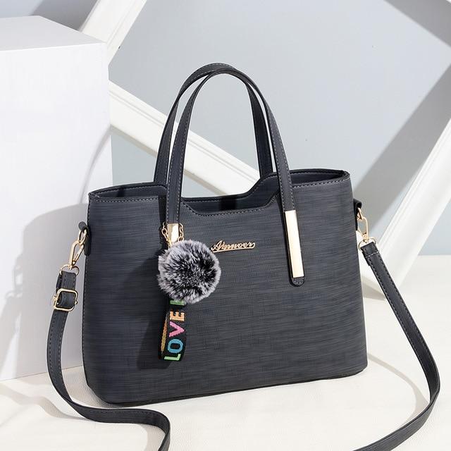 9590ffa7ab8c4 Women Bag Vintage Handbag Casual Tote Fashion Women Messenger Bags Shoulder  Top-Handle Purse Wallet