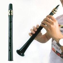 Деревянный переносной саксофон практичный саксофон с тростниковым духовым прибором маленький мини карман с альт мундштуками легкий#2