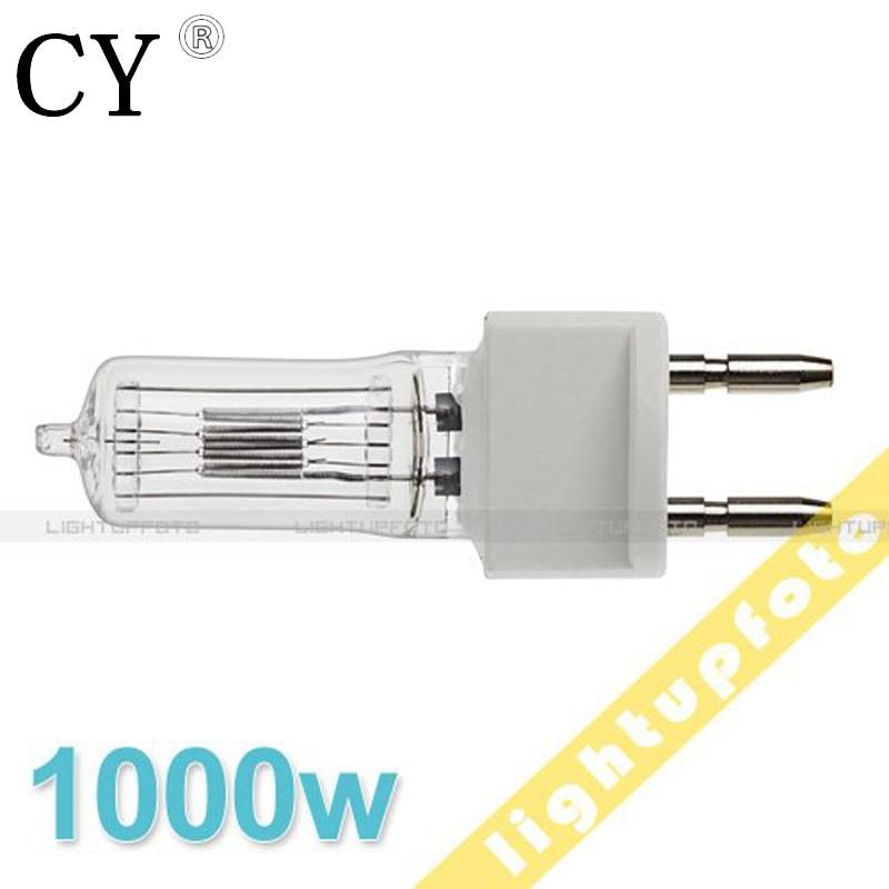 Halogen Tungsten Bulb for Fresnel Continuous Light 1000w studio light bulb studio lighting photography accessories PAV5-1000